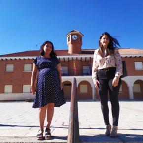 La vicepresidenta de la Diputación visita a la edil de Cs de Fuensaldaña para hacer balance de su gestión como equipo de gobierno