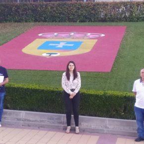 La vicepresidenta de la Diputación analiza, con los concejales de Cs en Zaratán, la actualidad del municipio