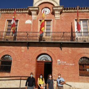 La Vicepresidenta de la Diputación y Portavoz de Cs mantiene una reunión con el Equipo de Gobierno de Boecillo para hacer balance del primer año de esta legislatura