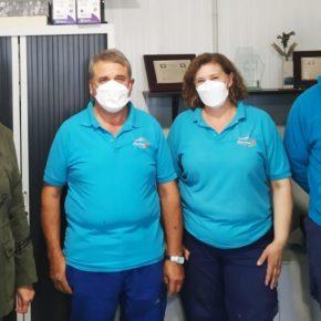 Nuria Duque visita Valverde de Campos y la Granja Potosí para apoyar el emprendimiento rural