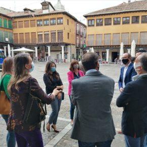 Gema Gómez y Nuria Duque participan en la clausura de los talleres de la Diputación 'Firma electrónica, certificados y facturación digital', en Tordesillas