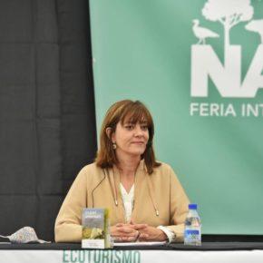 Nuria Duque presenta, en la Feria de Ecoturismo de Castilla y León 'Naturcyl', la propuesta 'Valladolid, una provincia para disfrutarla andando'