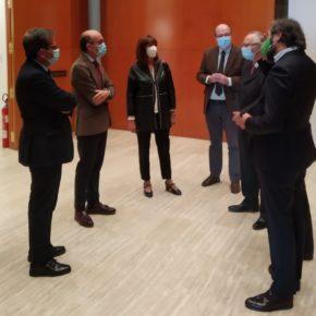 La Diputada de Cultura participa en la inauguración de la exposición 'Diálogos', de la Fundación Venancio Blanco y la Consejería de Cultura