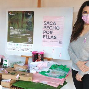 La Portavoz de Cs, Gema Gómez, #Sacapechoporellas y se suma a la campaña de la AECC contra el cáncer de mama