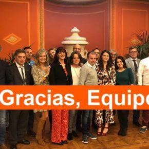 El Grupo Provincial celebra, de esta manera especial, el Día de la Provincia con sus cargos públicos... ¡¡Feliz Día!!