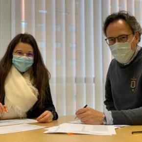 Gema Gómez analiza los Presupuestos de la Junta para Valladolid con el Procurador de Ciudadanos por esta provincia
