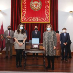 Gema Gómez participa en la entrega de medallas a los trabajadores de la Diputación de Valladolid