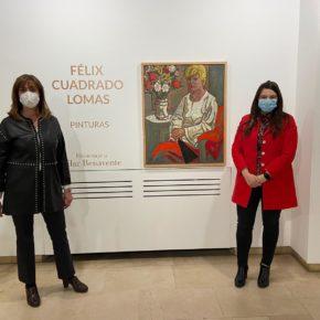 Las Diputadas Provinciales de Ciudadanos, Gema Gómez y Nuria Duque, participan en la inauguración de la exposición del artista Félix Cuadrado