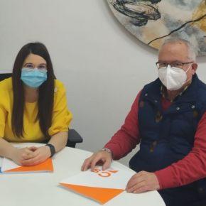 Gema Gómez se reúne con el Alcalde naranja de Valbuena de Duero para analizar la actualidad del municipio y estudiar mejoras
