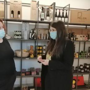 Gema Gómez, portavoz de Cs Valladolid y vicepresidenta de la Diputación apoya a la mujer emprendedora en el mundo rural