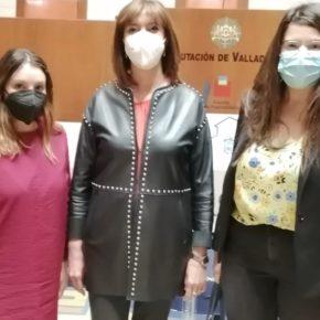 Las Dirigentes de Ciudadanos Gómez, Duque y González, participan en la entrega de los 'Premios y Becas' de la Diputación de Valladolis