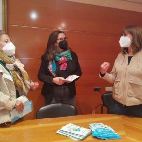 La Diputada Nuria Duque se reúne con la edil naranja y la Alcaldesa de la Cistérniga para escuchar sus propuestas sobre los Presupuestos Participativos de la Diputación