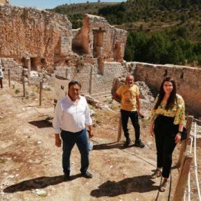 La vicepresidenta de la Diputación, Gema Gómez, realiza una visita institucional a Curiel de Duero, Manzanillo y Peñafiel