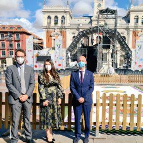 Los concejales de Valladolid asisten a los actos conmemorativos en honor a la Virgen de San Lorenzo, Patrona y Alcaldesa perpetua de la ciudad