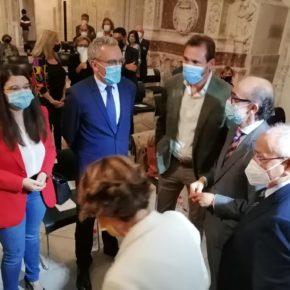 Gema Gómez, en representación de la Diputación de Valladolid, asiste a la presentación de la Fundación de Amigos del Museo Nacional de Escultura