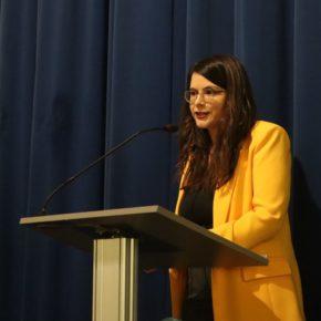 La Vicepresidenta de la Diputación de Valladolid y Diputada de Cultura, Gema Gómez, inaugura el curso de las Aulas de Cultura de la Diputación